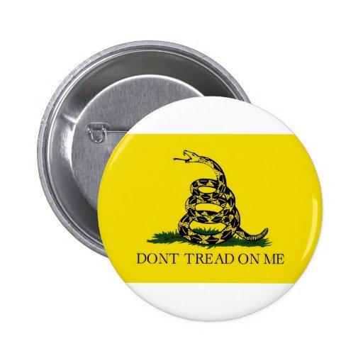 Dont Tread On Me Revolutionary War Gadsden Flag Pin