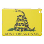 Dont Tread On Me Revolutionary War Gadsden Flag iPad Mini Cases