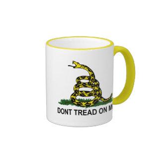 Dont Tread On Me Ringer Mug