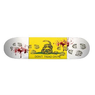 Don't Tread On Me Custom Skateboard