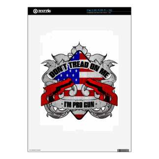 Don't Tread On Me Skins For The iPad 2