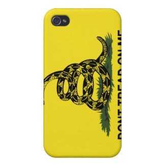 DONT TREAD ON ME  SPEC CASE COVERS FOR iPhone 4