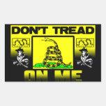 Don't Tread On Me! Sticker
