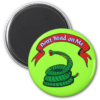 Don't Tread on Me T-shirts 2 Inch Round Magnet