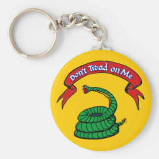 Don't Tread on Me T-shirts Keychain