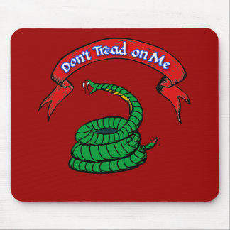 Don't Tread on Me T-shirts Mouse Pad