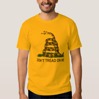 Don't Tread On Me Tee Shirts