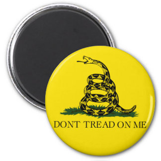 DONT TREAD ON ME, The Gadsden Flag 2 Inch Round Magnet