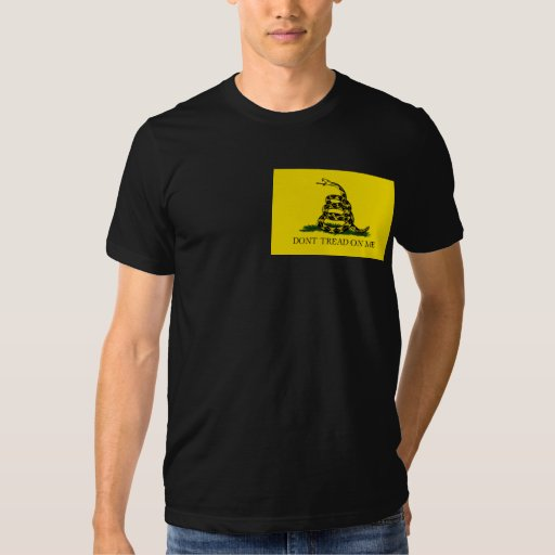 DONT TREAD ON ME, The Gadsden Flag Lt Shirts