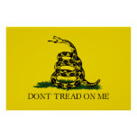 DONT TREAD ON ME, The Gadsden Flag Print