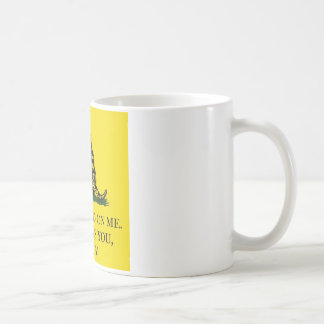 DON'T TREAD ON ME THIS MEANS YOU OBAMA COFFEE MUG