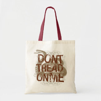 Dont Tread On Me Tote Canvas Bags