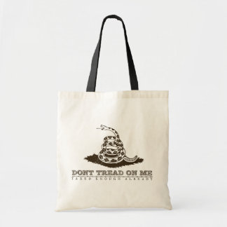 Dont Tread On Me Tote Bags