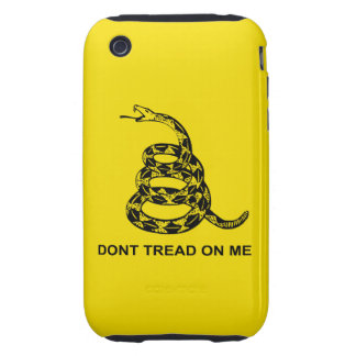 Don't Tread On Me Tough™ iPhone 3G/3GS C iPhone 3 Tough Case