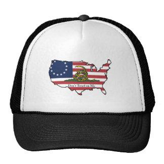 Dont Tread on Me USA Trucker Hat