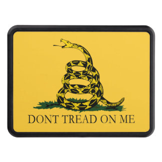 Don't Tread on Me Vintage Gadsden Flag Tow Hitch Cover