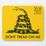 Don't Tread on Me, Will Bratton Mouse Pad