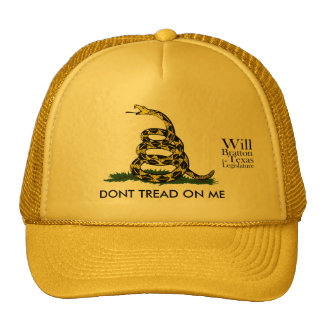 Don't Tread on Me, Will Bratton Trucker Hat