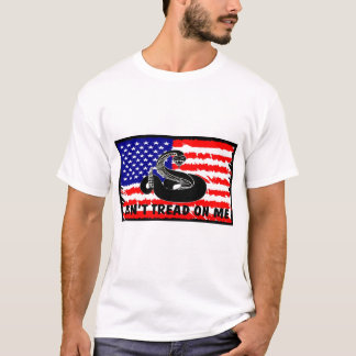 Don't Tread On Me with Flag T-Shirt