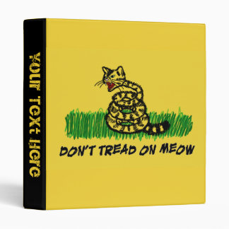 Don't Tread on Meow Binder