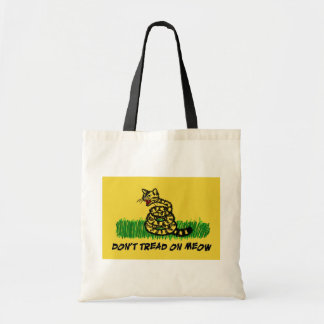 Don't Tread on Meow Tote Bag
