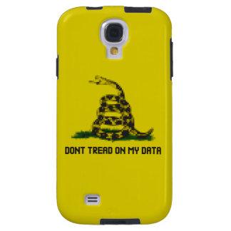 Don't Tread On My Data Galaxy S4 Case