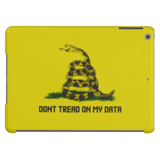 Don't Tread On My Data iPad Air Covers