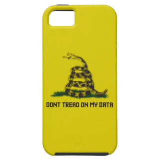 Don't Tread On My Data iPhone SE/5/5s Case