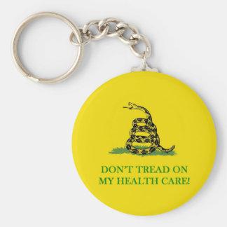 don't tread on my health care obama keychain
