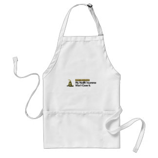 DONT TREAD ON MY HEALTHCARE ADULT APRON