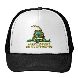 Don't Tread On My Internet Trucker Hat