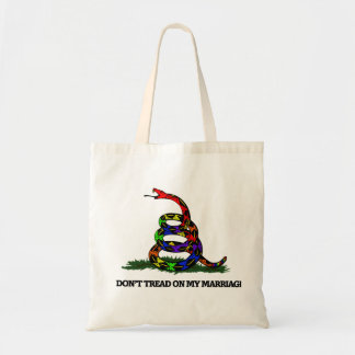Don't Tread on my Marriage Tote Bag