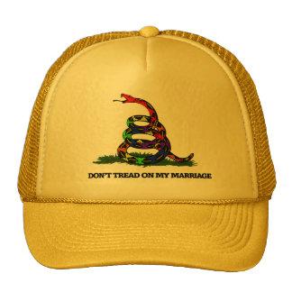 Don't Tread on my Marriage Trucker Hat