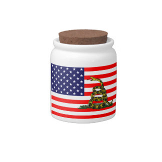 Don't Tread On The USA Candy Jar