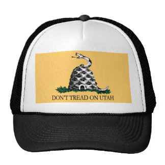 Don't Tread on Utah Trucker Hat