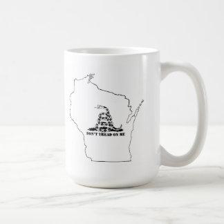 Don't Tread on Wisconsin Coffee Mug