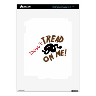 Dont Tread Skins For iPad 3