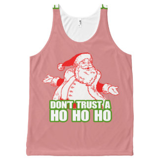 DON'T TRUST A HO HO HO.png All-Over-Print Tank Top