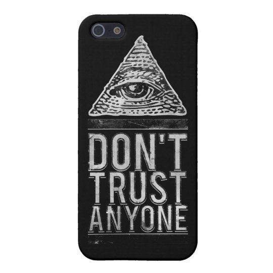 Don't trust anyone iPhone SE/5/5s case