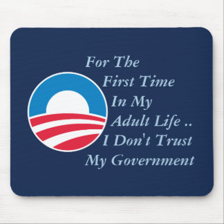 Don't Trust Government Mouse Pad