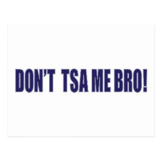 Don't-TSA-Me-BRO Postcard