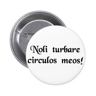 Don't upset my calculations! pin