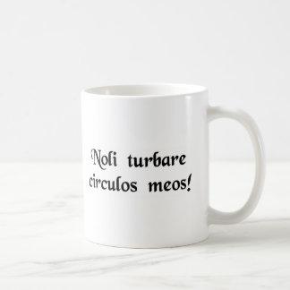 Don't upset my calculations! coffee mug