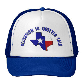 Don't Vex Us Texas - Secession is Quitter Talk Trucker Hat