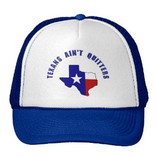 Don't Vex Us Texas - Texans Ain't Quitters Trucker Hat