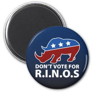 Don't Vote for R.I.N.O.s Magnet