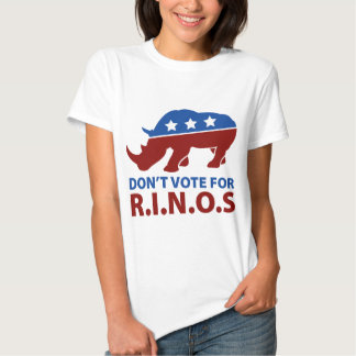 Don't Vote for R.I.N.O.s T Shirt