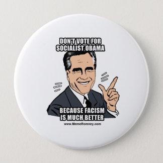 DON'T VOTE FOR SOCIALIST OBAMA BUTTON