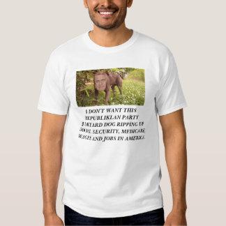 DON'T VOTE FOR THIS JUNKYARD DOG. T-Shirt