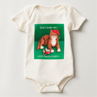 Don't Wake Me Baby Bodysuit